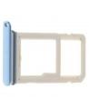 Cristal camara + embellecedor S7 Edge azul